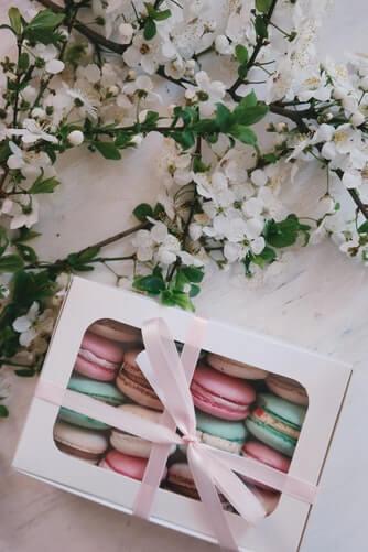 Gastgeschenk Macarons